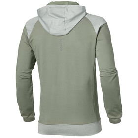 asics Thermopolis - T-shirt manches longues running Homme - olive